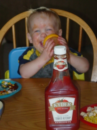 ryan withketchup