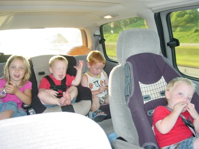 our trip in the van