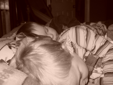 Ryan and Dakota napping2
